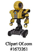 Robot Clipart #1673261 by Leo Blanchette