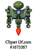 Robot Clipart #1673267 by Leo Blanchette