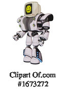 Robot Clipart #1673272 by Leo Blanchette