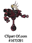 Robot Clipart #1673291 by Leo Blanchette