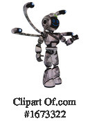 Robot Clipart #1673322 by Leo Blanchette