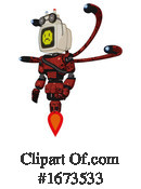 Robot Clipart #1673533 by Leo Blanchette