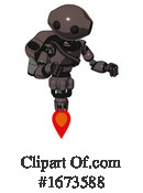 Robot Clipart #1673588 by Leo Blanchette