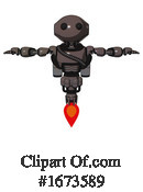 Robot Clipart #1673589 by Leo Blanchette