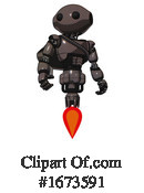 Robot Clipart #1673591 by Leo Blanchette