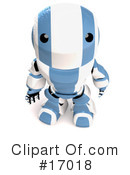 Royalty-Free (RF) Robot Clipart Illustration #17018