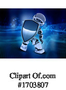 Robot Clipart #1703807 by KJ Pargeter