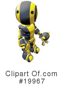Robot Clipart #19967 by Leo Blanchette
