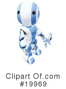 Robot Clipart #19969 by Leo Blanchette