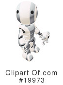 Robot Clipart #19973 by Leo Blanchette