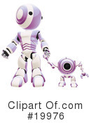 Royalty-Free (RF) Robot Clipart Illustration #19976