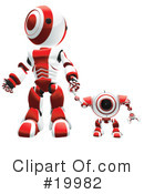 Royalty-Free (RF) Robot Clipart Illustration #19982