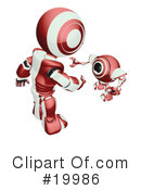 Robot Clipart #19986 by Leo Blanchette