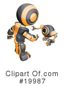 Robot Clipart #19987 by Leo Blanchette