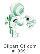 Royalty-Free (RF) Robot Clipart Illustration #19991