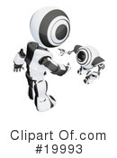 Royalty-Free (RF) Robot Clipart Illustration #19993