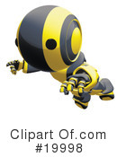 Robot Clipart #19998 by Leo Blanchette