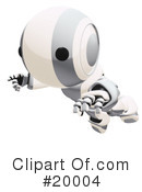 Robot Clipart #20004 by Leo Blanchette
