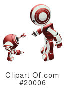Robot Clipart #20006 by Leo Blanchette