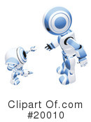 Royalty-Free (RF) Robot Clipart Illustration #20010