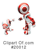 Royalty-Free (RF) Robot Clipart Illustration #20012