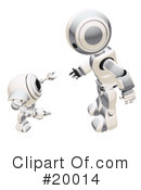 Royalty-Free (RF) Robot Clipart Illustration #20014