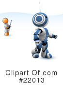 Robot Clipart #22013 by Leo Blanchette