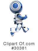 Royalty-Free (RF) Robot Clipart Illustration #30381