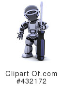 Robot Clipart #432172 by KJ Pargeter