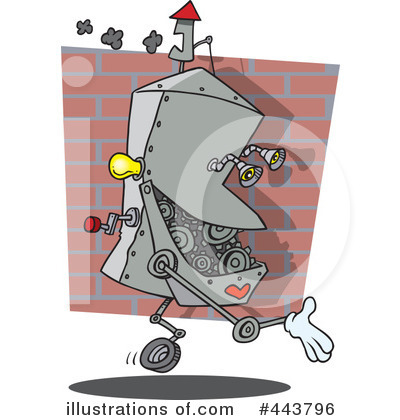 Robot Clipart #443796 by toonaday