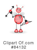 Royalty-Free (RF) Robot Clipart Illustration #84132