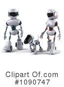 Royalty-Free (RF) Robots Clipart Illustration #1090747