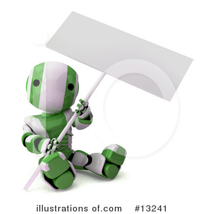 Robot Clipart #13241 by Leo Blanchette
