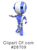 Robots Clipart #28709 by Leo Blanchette