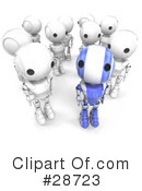 Robots Clipart #28723 by Leo Blanchette