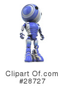 Robots Clipart #28727 by Leo Blanchette