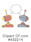 Royalty-Free (RF) Robots Clipart Illustration #432214