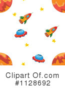 Rocket Clipart #1128692 by Graphics RF