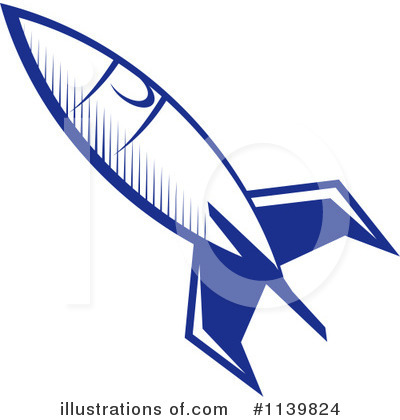 Rocket Clipart #1139824 by Vector Tradition SM
