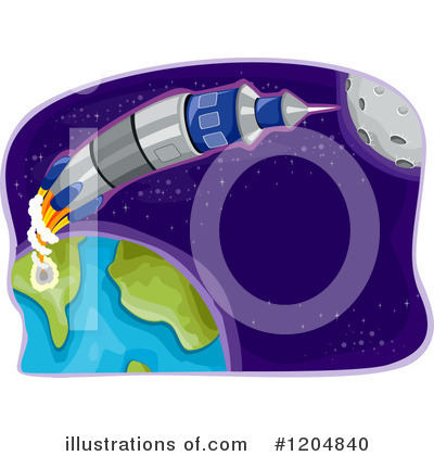 Outer Space Clipart #1204840 by BNP Design Studio