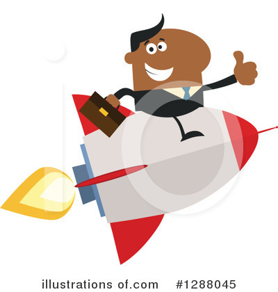 Businessman Clipart #1288045 by Hit Toon