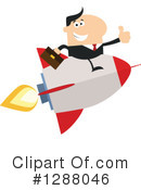 Royalty-Free (RF) Rocket Clipart Illustration #1288046