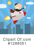 Rocket Clipart #1288051 by Hit Toon