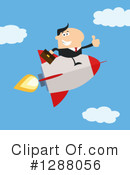 Rocket Clipart #1288056 by Hit Toon