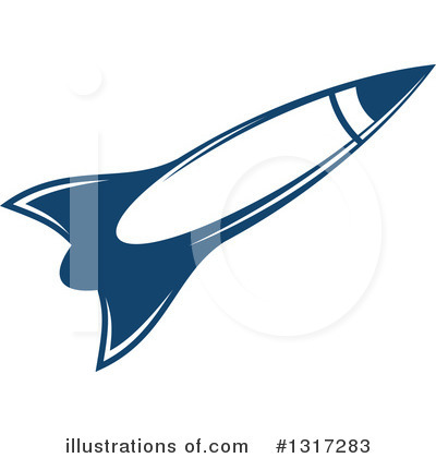 Rocket Clipart #1317283 by Vector Tradition SM
