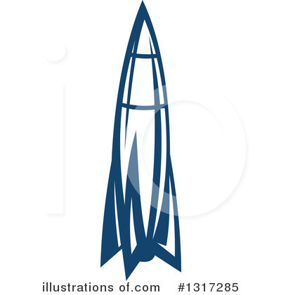 Rocket Clipart #1317285 by Vector Tradition SM