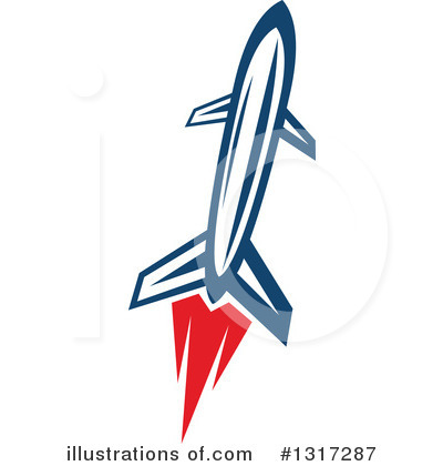 Rocket Clipart #1317287 by Vector Tradition SM