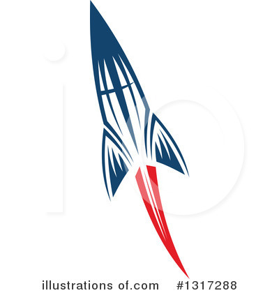 Rocket Clipart #1317288 by Vector Tradition SM