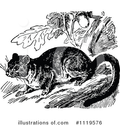 Mouse Clipart #1119576 by Prawny Vintage