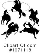 Royalty-Free (RF) Rodeo Clipart Illustration #1071118